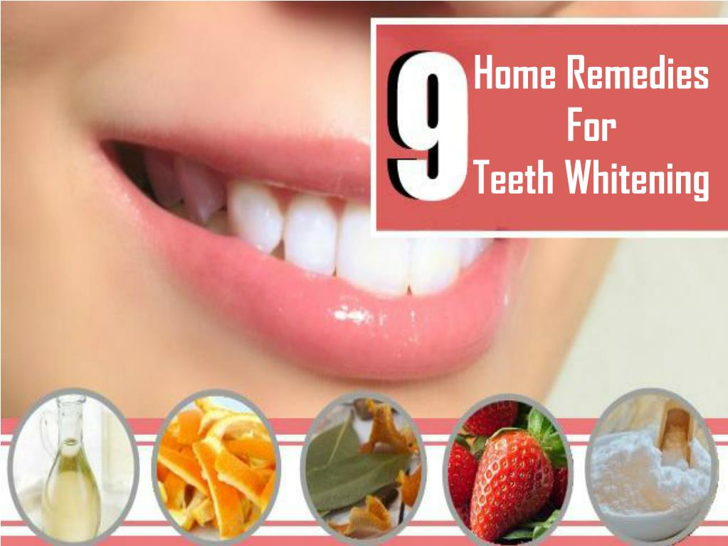 Ppt Home Remedies For Teeth Whitening Powerpoint Presentation