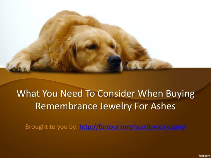 what you need to consider when buying remembrance jewelry for ashes