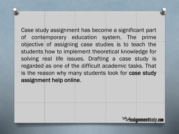 case study assignment 1 Case study 1: applying theory to practice due week 4 and worth 130 points social scientists have proposed a number of theories to explain juvenile delinquency each has its own strengths and weaknesses.