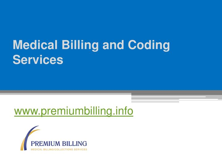 medical billing and coding services n.