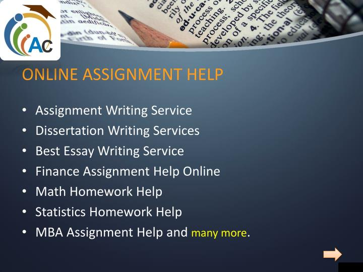 online assignment writing Assignment writing uae is a special organization which not only provide assignment writing service for the ease of students but also give assistance to them instantly 24/7/365 this service is a team of highly talented writers so that your tasks could be completed with wholeheartedness.