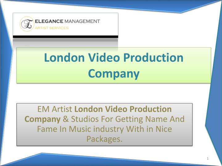 london video production company n.
