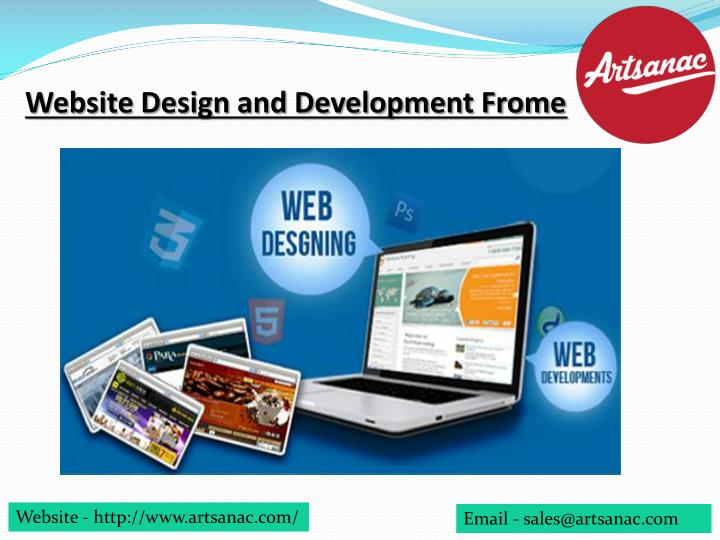 website design and development frome n.
