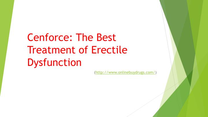 cenforce the best treatment of erectile dysfunction n.