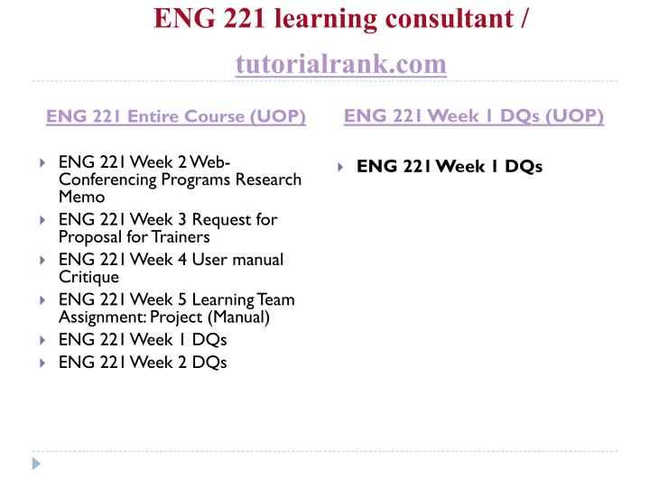 Eng 221 learning consultant tutorialrank com1