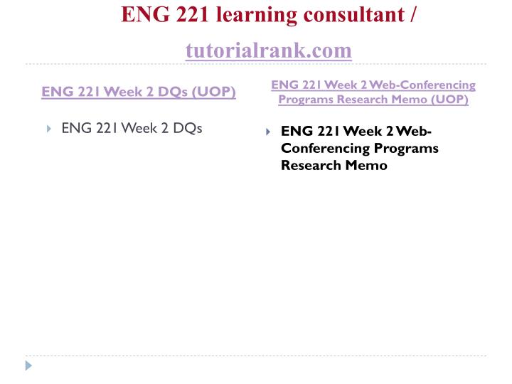 Eng 221 learning consultant tutorialrank com2