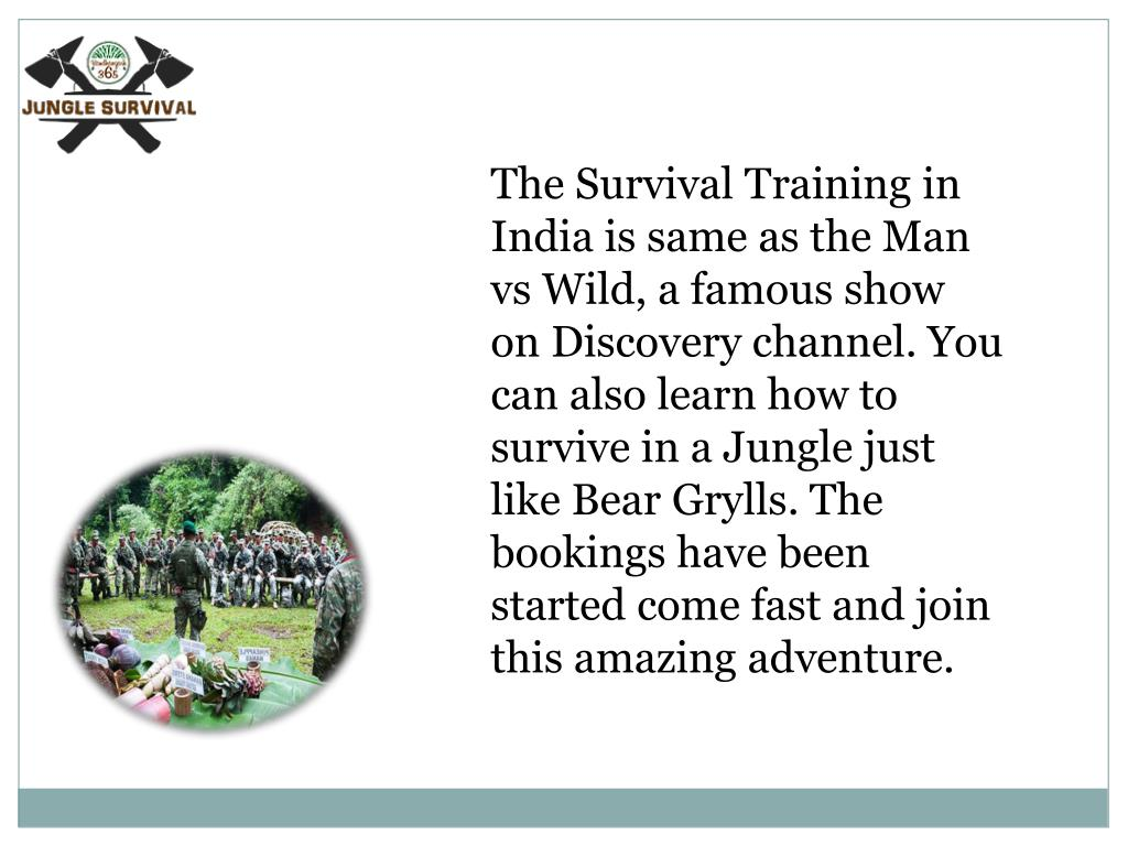 PPT - Survival Training Camp India PowerPoint Presentation