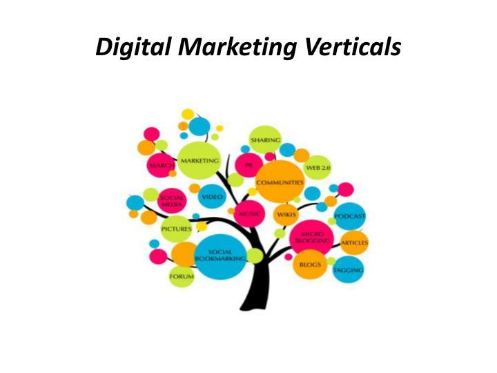 Digital Marketing Verticals