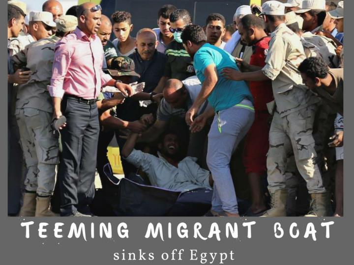 abounding vagrant watercraft sinks off egypt n.