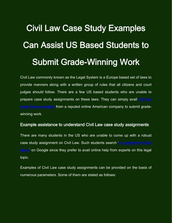 canadian business law case studies The canadian intellectual property office is offering intellectual property (ip) case studies as a teaching tool to engineering, science and business students at the post-secondary education level.