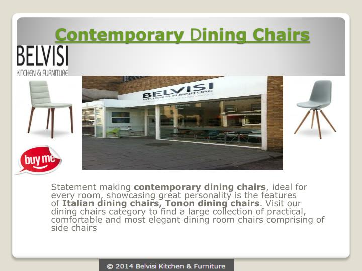 contemporary d ining chairs n.