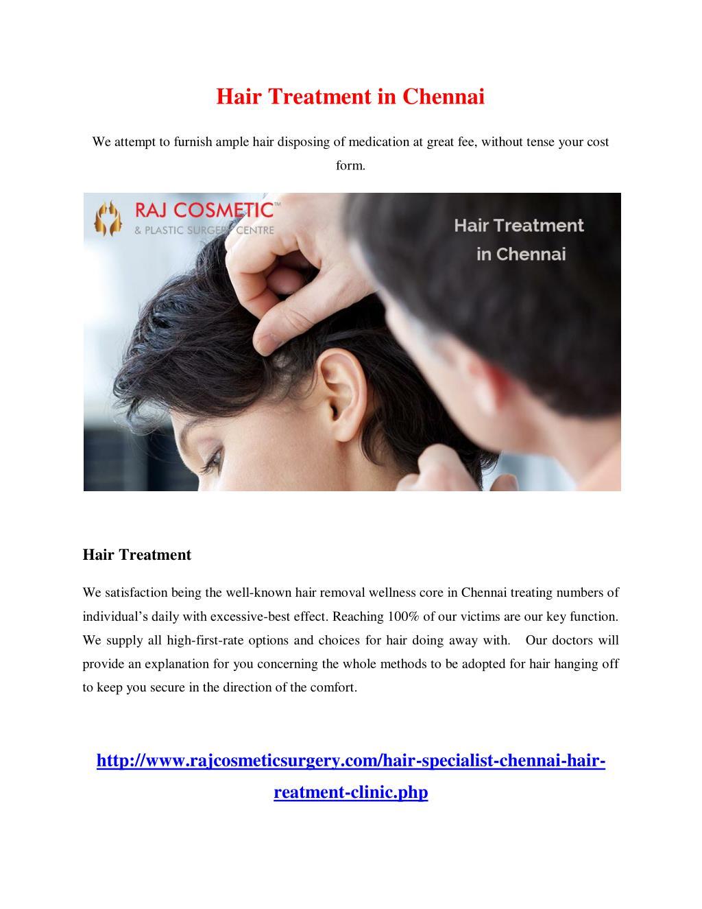 Ppt Hair Treatment In Chennai Powerpoint Presentation Free