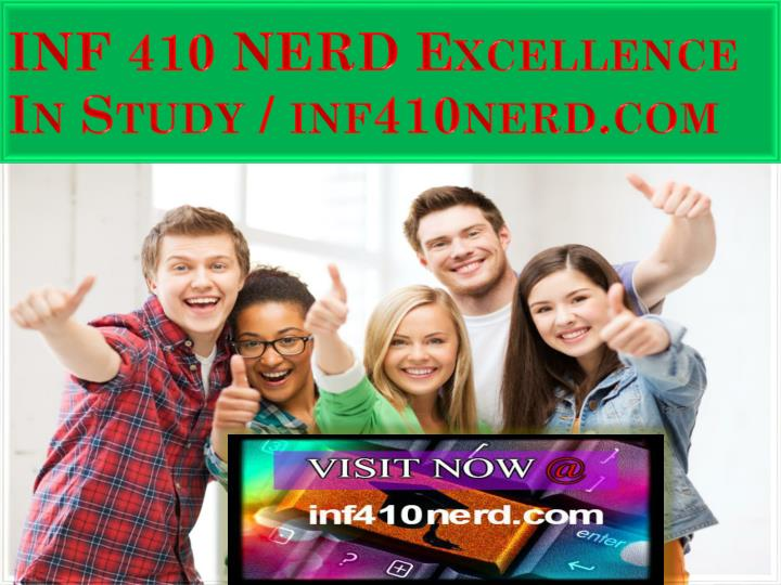 inf 410 nerd excellence in study inf410nerd com n.