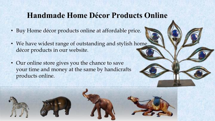 Handmade Home Décor Products Online