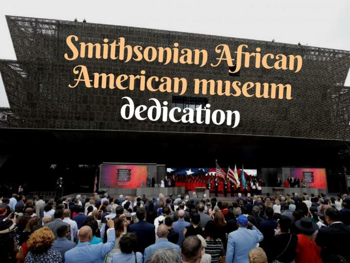 smithsonian african american gallery dedication n.