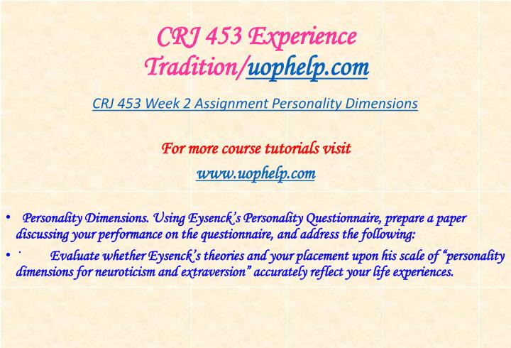 Crj 453 experience tradition uophelp com1