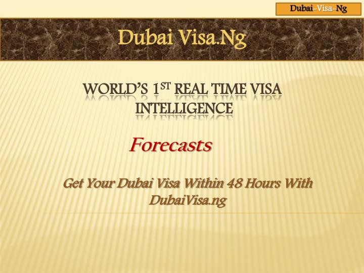get your dubai visa within 48 hours with dubaivisa ng n.