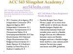 acc 543 slingshot academy acc543edu com6