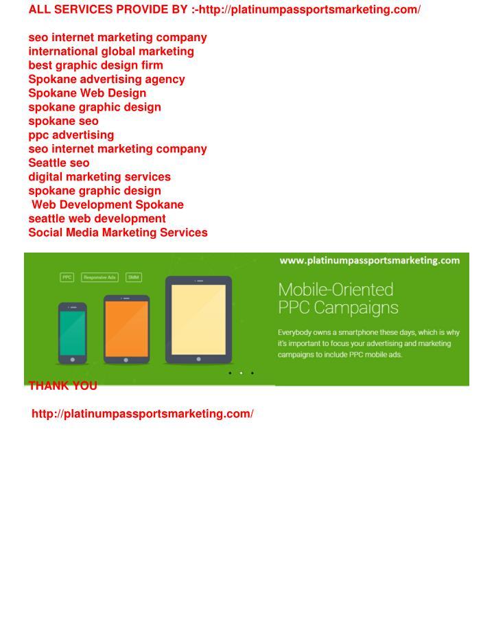 ALL SERVICES PROVIDE BY :-http://platinumpassportsmarketing.com/
