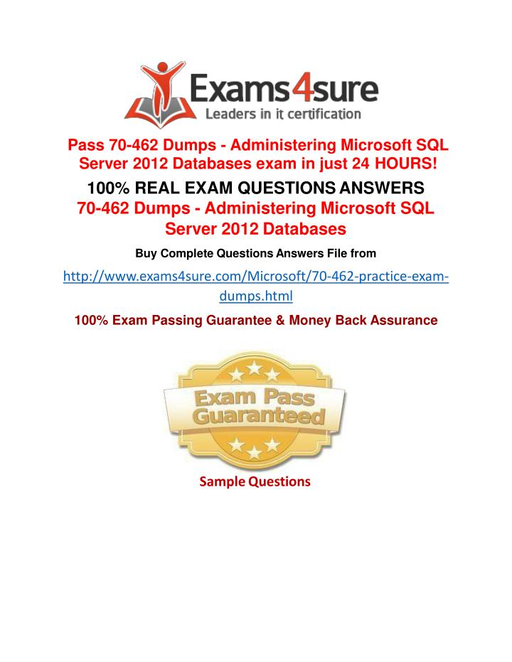 Ppt 70 462 Exam Questions Powerpoint Presentation Id7409812