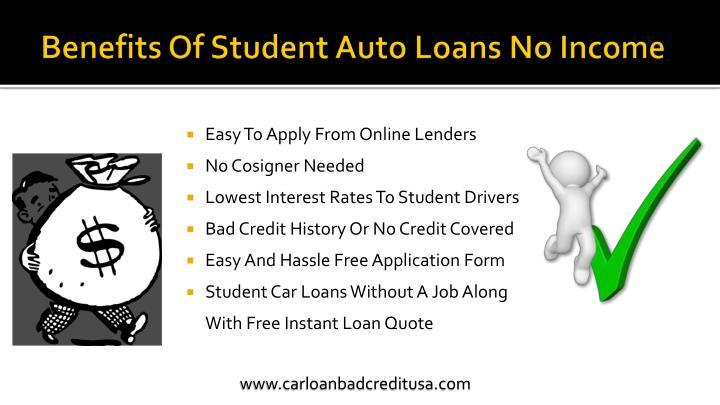 Car Loan Without A Job