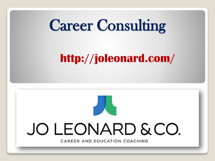 career consulting n.