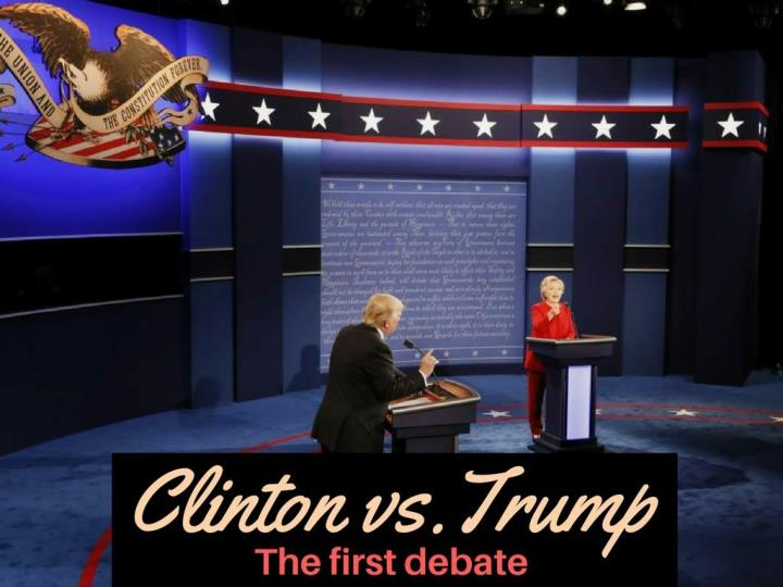 clinton versus trump the primary debate n.