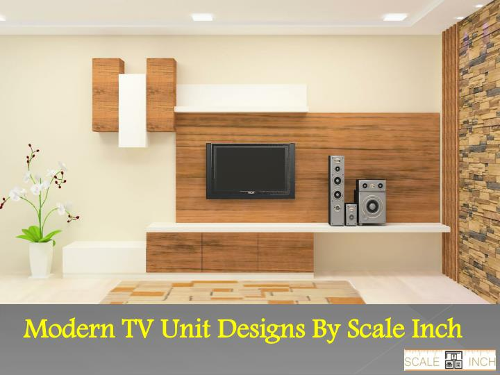 PPT - Wooden TV wall units online shopping india PowerPoint ...