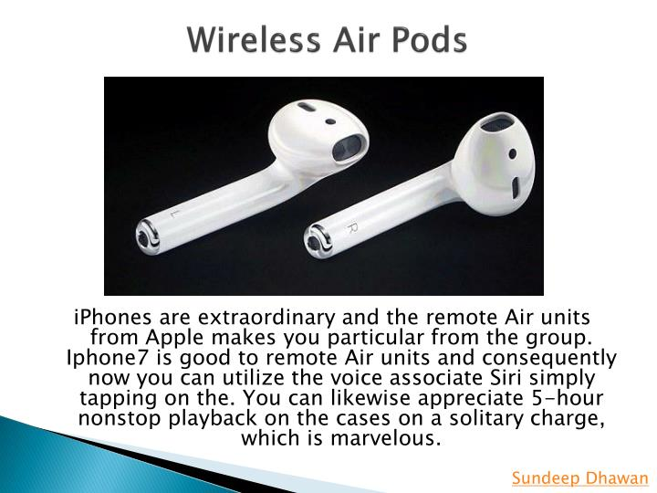 Wireless Air Pods