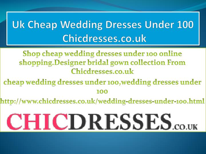 uk cheap wedding dresses under 100 chicdresses co uk n.