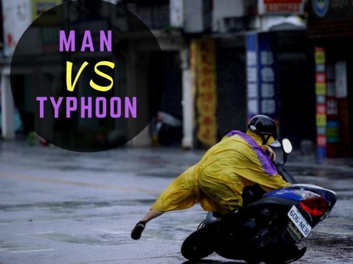 man versus typhoon n.