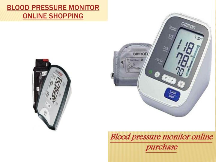 Blood pressure monitor online shopping