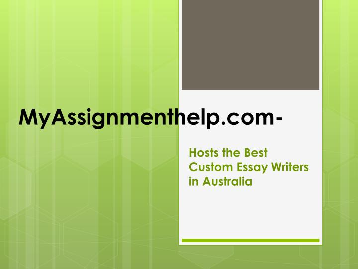 Custom writers help login