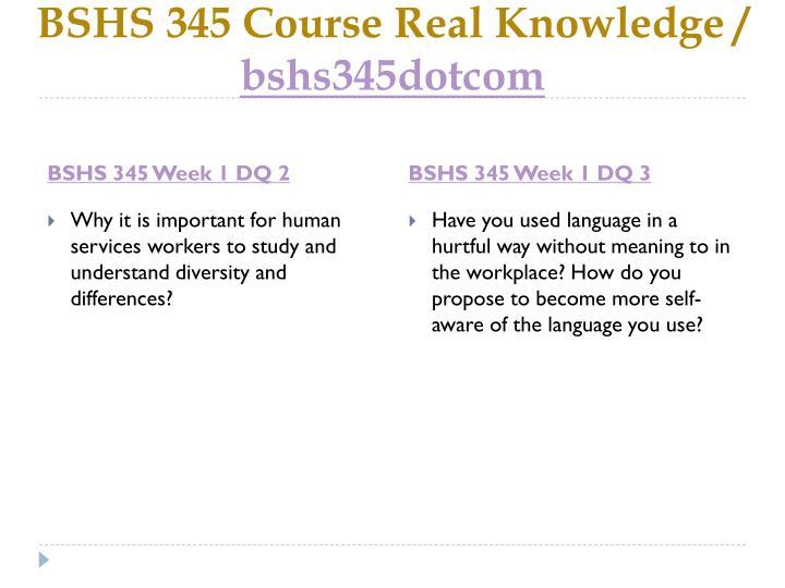 bshs 345 week 1 classism ableism