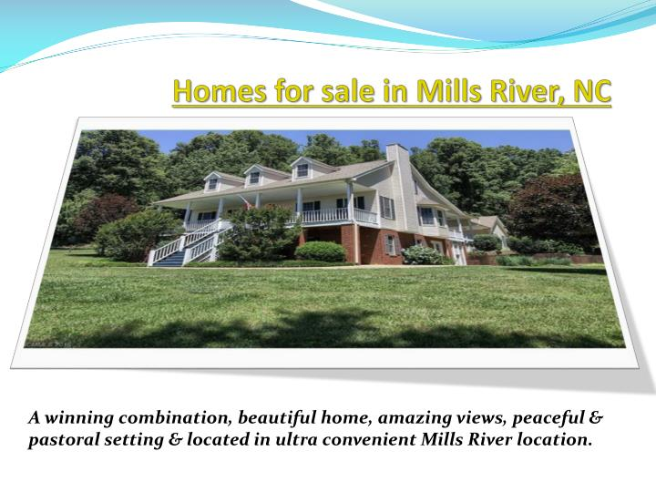 Homes for sale in mills river nc