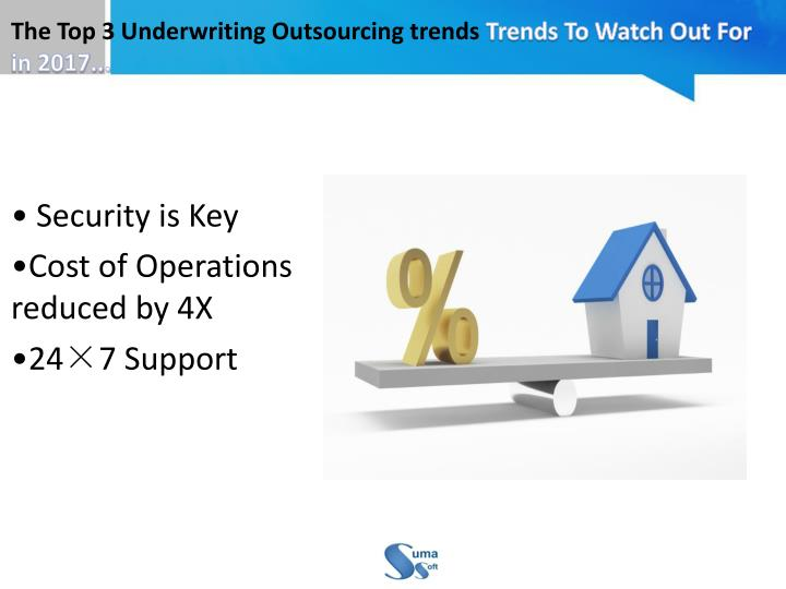 The Top 3 Underwriting Outsourcing trends