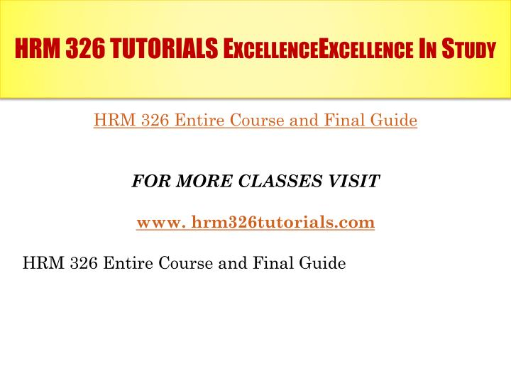 training key areas hrm 326 Preview of hrm 326 week 4 powerpoint the week 4 powerpoint presentation provides 7 slides that detail delivery methods covered throughout the class the final slide provides recommendations based on the existing deliver methods.