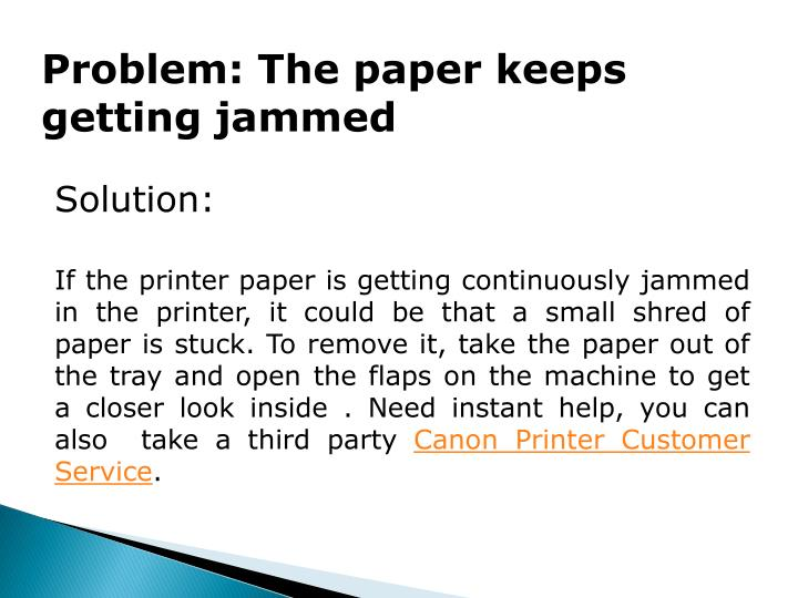 Problem: The paper keeps