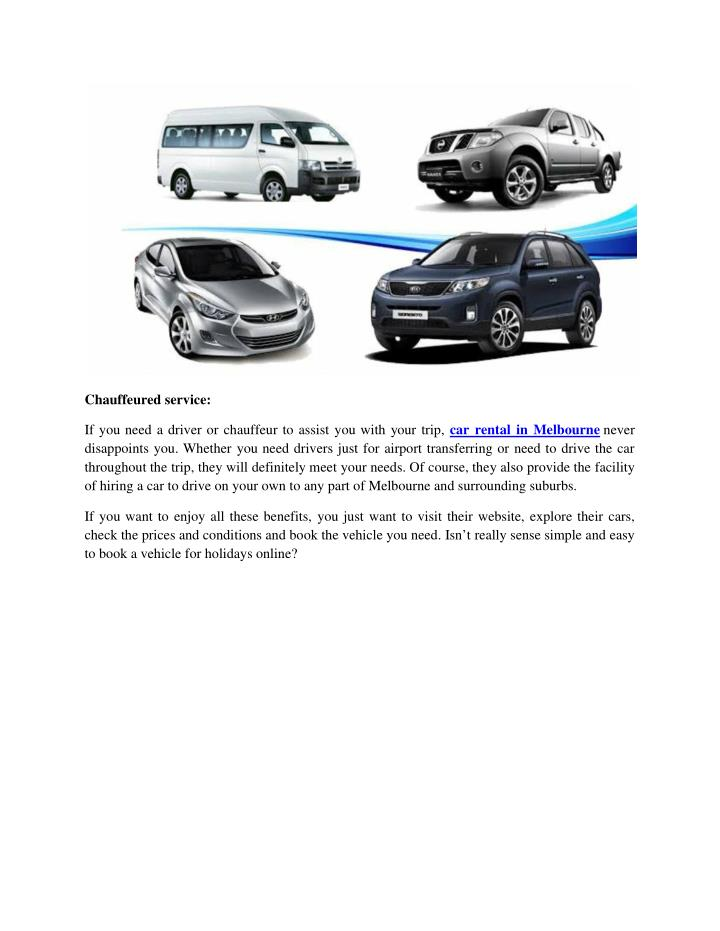 Car Hire Melbourne Airport  East Coast Car Rentals