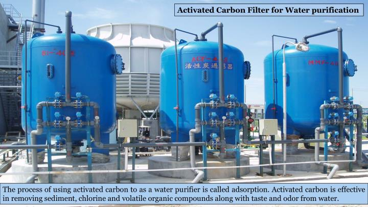 Activated Carbon Filter for Water