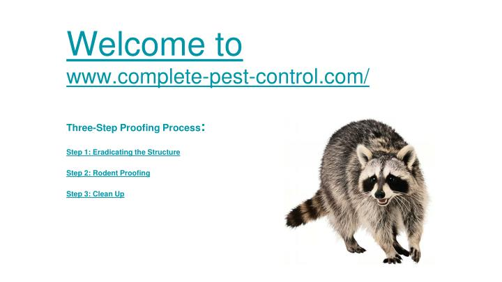 welcome to www complete pest control com n.