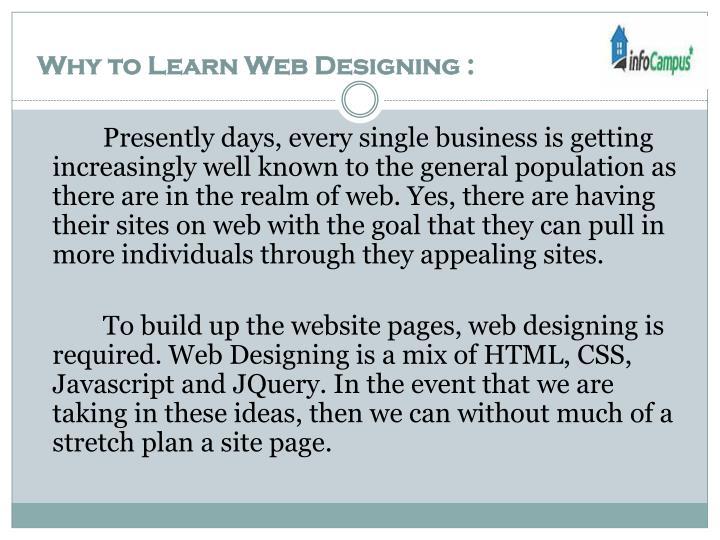 Web designing training bangalore