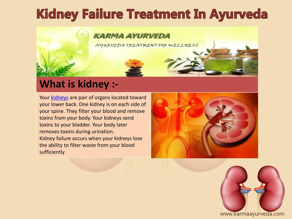 Ppt Kidney Failure Treatment In Ayurveda Powerpoint Presentation Free Download Id 7414766
