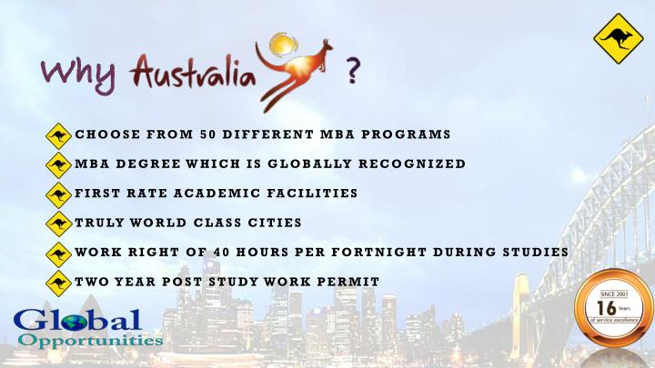 CHOOSE FROM 50 DIFFERENT MBA PROGRAMS