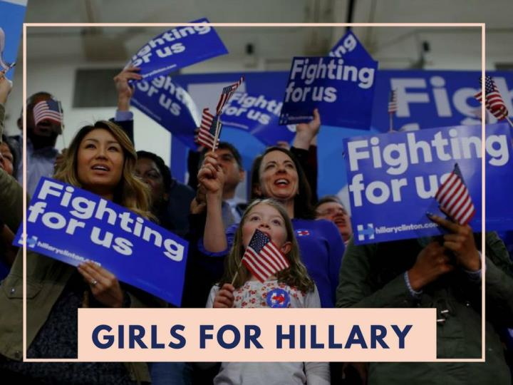young ladies for hillary n.