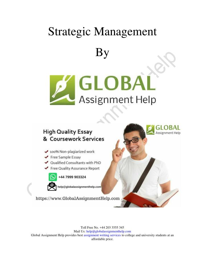 managing global essay