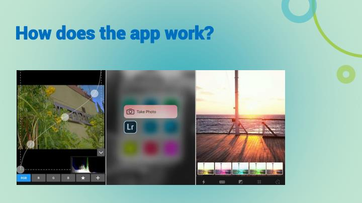 How does the app work?