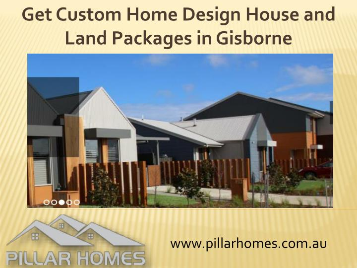 get custom home design house and land packages in gisborne n.