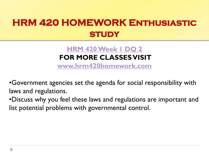 hrm 420 week 4 Study flashcards on hrm 420 week 2 quiz at cramcom quickly memorize the terms, phrases and much more cramcom makes it easy to get the grade you want.