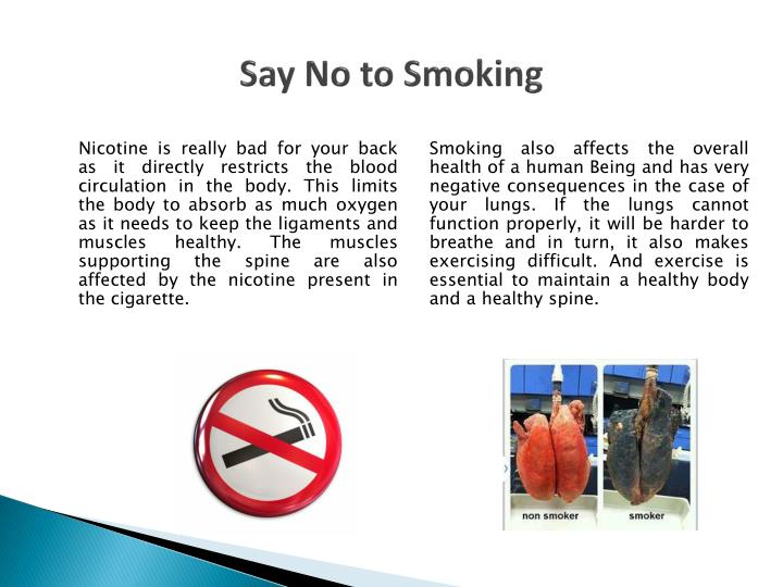 say no to tobacco Are you thinking about quitting tobacco yavapai regional medical center is  offering classes that can help guide you toward quitting for good,.